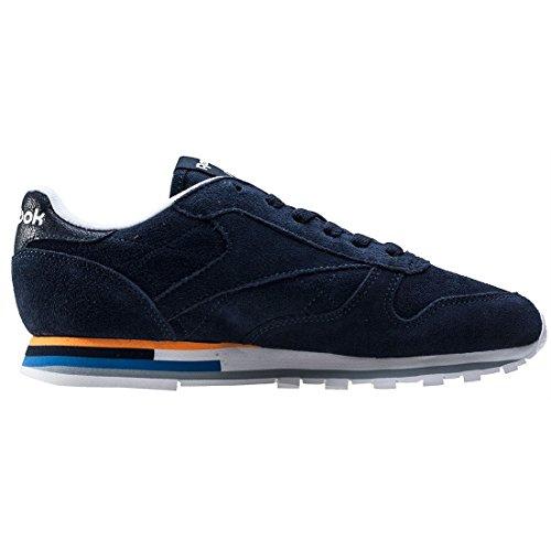 Reebok Damen Classic Leather Mh Sneaker Indigo