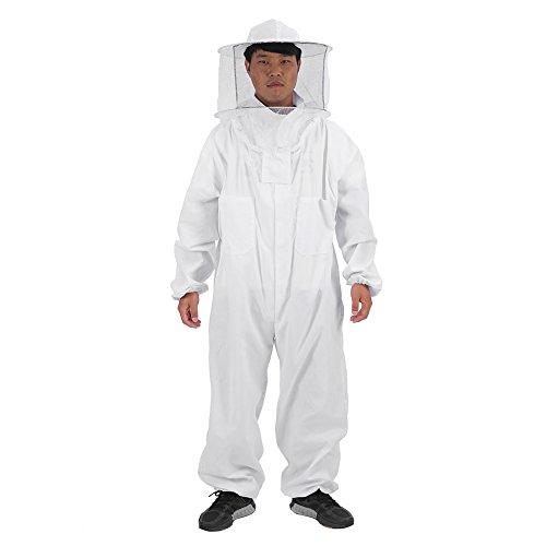 Caredy Imker-Anzug, professionelle schützende Biene hält Ganzkörper-Imker-Anzug Super dicken Hut (XXL)