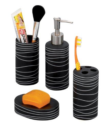 Badezimmer set schwarz bestseller shop f r m bel und for Badezimmer sets badausstattung