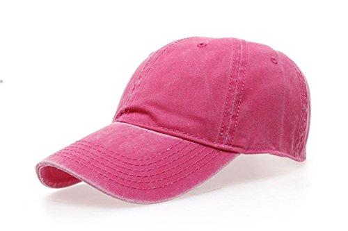 Funny hat Printemps Automne Unisexe Loisirs Simplicité Coton réglable Casquette Broderie/Tissu délavé Casual Sport Outdoor Snapback Baseball Cap