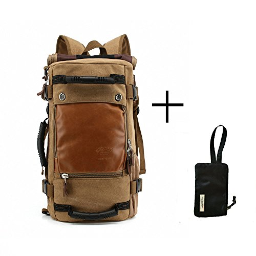 happy-factory-khaki-outdoor-rucksack-sackpack-business-umweltschutz-leinwand-wasserabweisend-mehrzwe