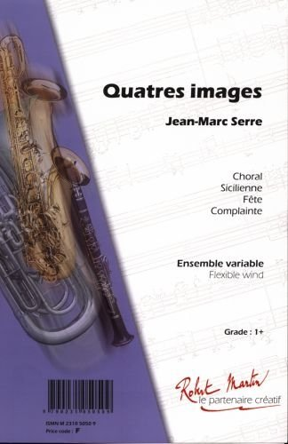 ROBERT MARTIN SERRE J.M. - QUATRE IMAGES Klassische Noten Junior Orchester