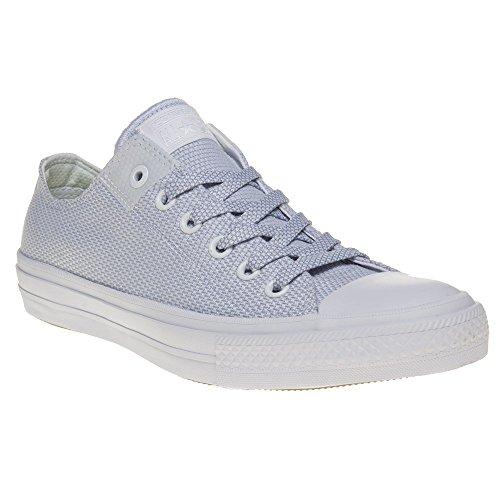 Zapatilla Chuck Taylor All Star II OX White-Blue Granite-White Talla 7,5 USA
