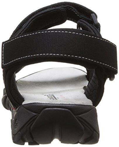 Dockers by Gerli 36LI001-200100, Sandales homme Noir (Schwarz 100)