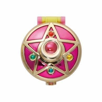 Sailor Moon Compact Mirror Crystal Brooch ~takahashi Rmiko Sailor Moon 20th Anniversary