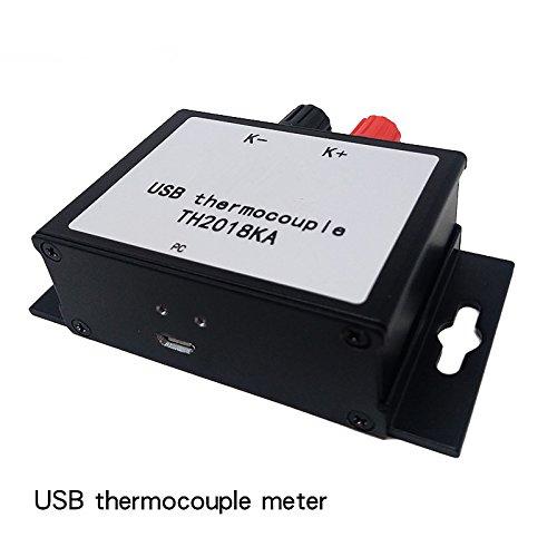 Kaiser Von Gadgets Usb-thermometer, Industrieller Usb Datenlogger Für Hohe Temperatur Erkennung Mit Thermoelementen Typ K Sonde (Temperatur Reihe Ist 0℃ 1024℃321875)