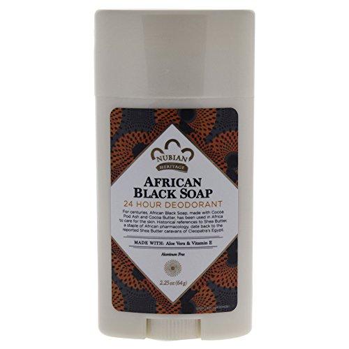 NUBIAN HERITAGE African Black Soap 24 Hour Deodorant