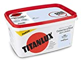 Titan - Titanlux Pintura Plástica Covertura Total 4L Gama de Colores (1024 Azul Artico)