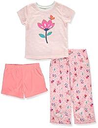 Carters Bebitas Niñas 3-Piece Pajamas Juego de Pijama