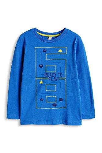 ESPRIT Jungen Langarmshirt 095EE8K004, Gr. 116 (Herstellergröße: 116/122), Blau (BLUE 430)