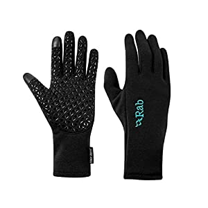 41MJaOU x9L. SS300  - Rab Power Stretch Contact Grip Gloves Women black 2020 sport gloves