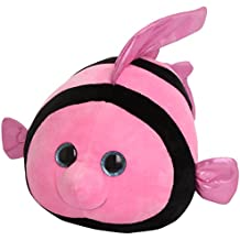 TY - Peluche bola pez, 23 cm, color rosa (United Labels 38556TY)