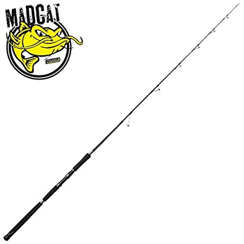 MAD Cat Black Vertical - Canne Silures, 1.90m, 50-250g, 1-brins - Cat Rod