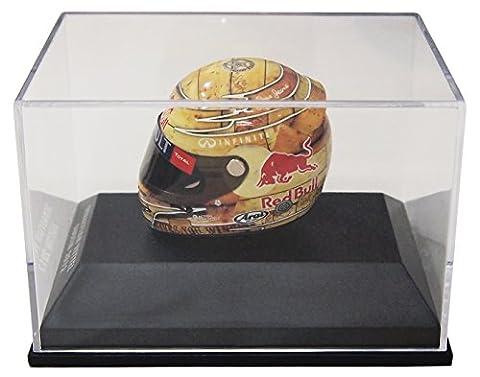 Minichamps 1:8 Scale 2012 Austin Sebastian Vettel Arai