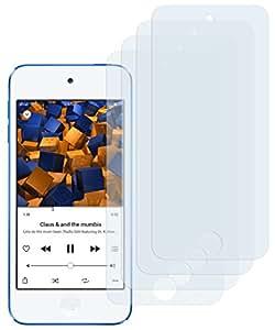 4x mumbi Displayschutzfolie iPod Touch 5G / 6G Schutzfolie