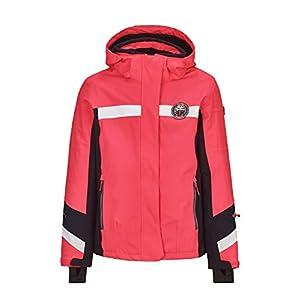Killtec Mädchen Carmen Jr Skijacke Wasserdicht, Funktionsjacke Mit Abzippbarer Kapuze Und Schneefang, Wassersäule 10000 Mm