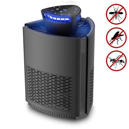 Rsiosle Elektrische Käfer, Moskito-Mörder-Lampe, Fliegen-Insektenfallen mit LED-Bionic-Mosquito-Lampenperlen mit Lichtsteuerungssensor, USB-Powered geruchlos und geräuschlos für Home Kitchen Office - Nicht Powered Vent