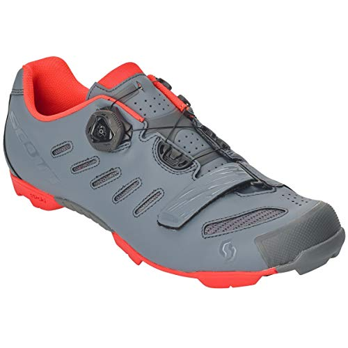 Scott MTB Team Boa 2019 - Zapatillas para Bicicleta, Color Gris y Naranja, 42
