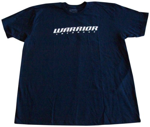 Warrior LAX Logo Kurzarm Tee, Herren damen, navy (Warrior Training T-shirt)