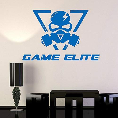 Teen Titans Maske - Spiel Elite Video Vinyl Wandtattoo Gaming