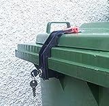 Mülltonnenverriegelung, 60 - 360 Liter, Gleichschließend -