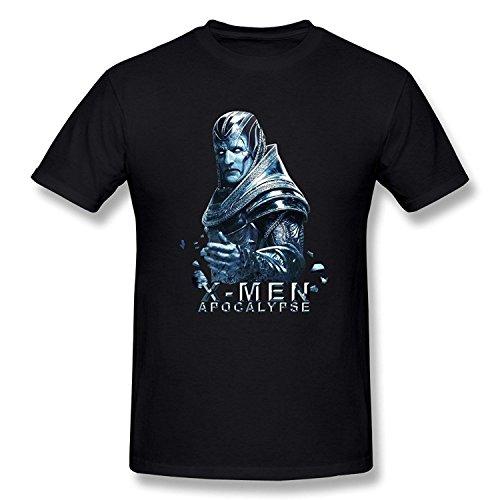SEagleo Men's X-Men:Apocalypse Magneto Erik Lensherr T-shirt Small