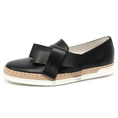 b1555-mocassino-donna-tods-scarpa-nera-loafer-shoe-woman-40