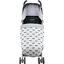 Manta saco cubre pies bebé algodón Maxi Cosi, Bugaboo, Maclaren, BabyBjörn, Chicco, Jané Impermeabilizado Janabebe ®