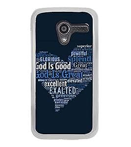 Fuson Designer Back Case Cover for Motorola Moto X :: Motorola Moto X (1st Gen) XT1052 XT1058 XT1053 XT1056 XT1060 XT1055 (superior overwheming powerful dazzling measurless)