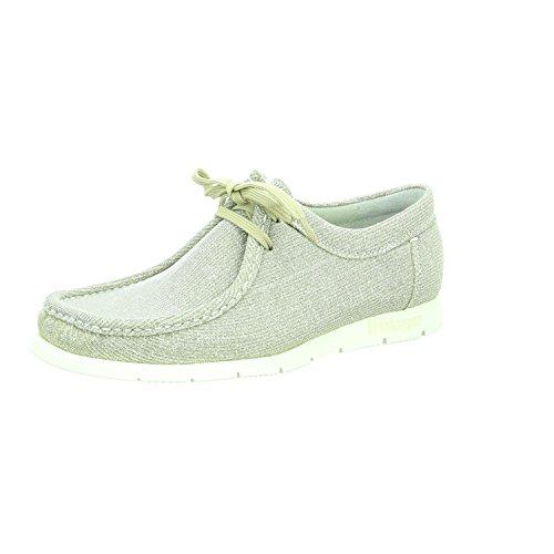 Sioux  58739, Chaussures de ville à lacets pour femme Gris