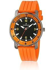 Radiant RA106603 - Reloj con correa de acero para hombre, color negro / gris