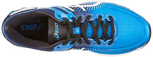 Asics Gel-Kinsei 6, Chaussures de Course pour Entraînement sur Route Homme Bleu (Electric Blue/off White/island Blue)