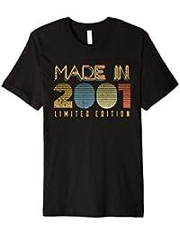 18 Geburtstag Geschenk Männer Frauen - 2001 Vintage T-Shirt