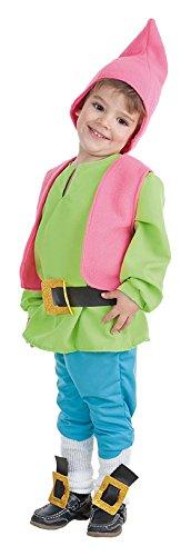 Creaciones Llopis Costume da elfo per neonati fino a 18mesi, colore: verde, taglia unica