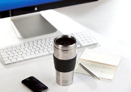 Kaffeemaschine für 400ml Kaffee ToGo im Thermobecher DOMO DO437K schwarz - 4