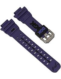 Ersatzband Uhrenarmband Resin Band Violett passend zu Casio G-Shock GX-56DGK 10375510