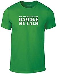 Brand88, Beginning To Damage My Calm, Erwachsene Mode T-Shirt
