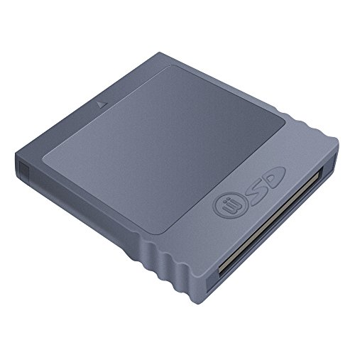 6amLifestyle Nintendo Wii Gamecube Key SD Memory Card Converter Adapter (SD Card NOT Included) (Klicken Sie Auf Und Spielen Tablet)