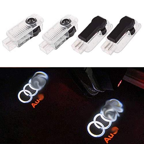 ZYDTrip 4 X Autotür Logo Türbeleuchtung Einstiegsleuchte Projektion Licht