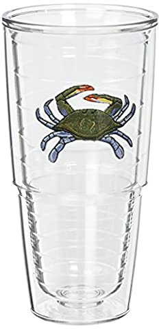 Tervis Tumbler Blue Crab 24-Ounce Double Wall Insulated Tumbler, Set