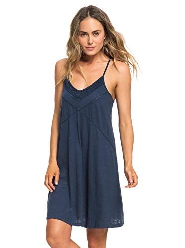 Roxy New Lease of Life Knit Femme, Dress Blues, FR : L (Taille Fabricant : Large)