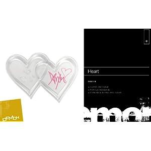 Demon Heart Stomp Snowboard Patch, rutschfest, Unisex, Mehrfarbig, 10 x 10 cm