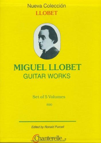 Miguel Llobet Guitar Works