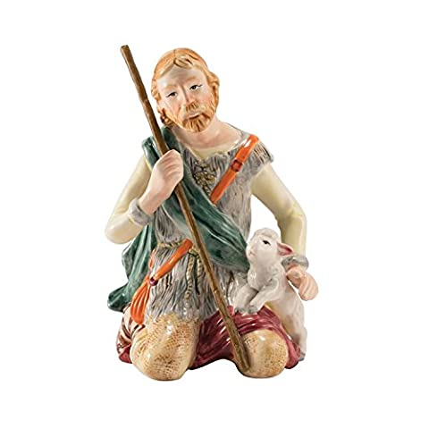 Fitz and Floyd Nativity Collection Shepherd Man Figurine