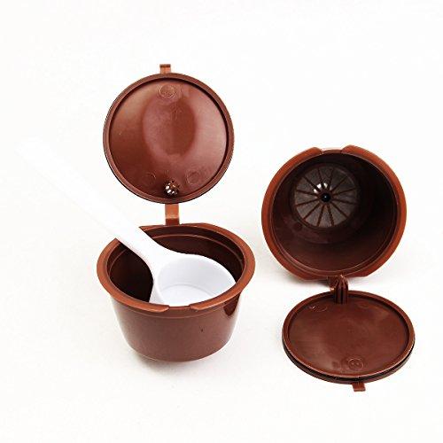 Tutoy máquina de café 2pcs cápsulas Dolce Gusto Recargable Reutilizable café Emohome