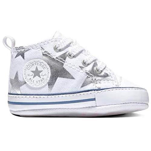 zapatillas converse niños blancas