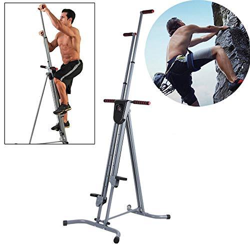 WXH Multifunktions-Vertikal-Kletter-Cardio, Fitness-Kletter-Ganzkörper-Trainingsgerät, Treppen-Stepper-Training, für den Heim-Body-Trainer (Treppen-trainer)