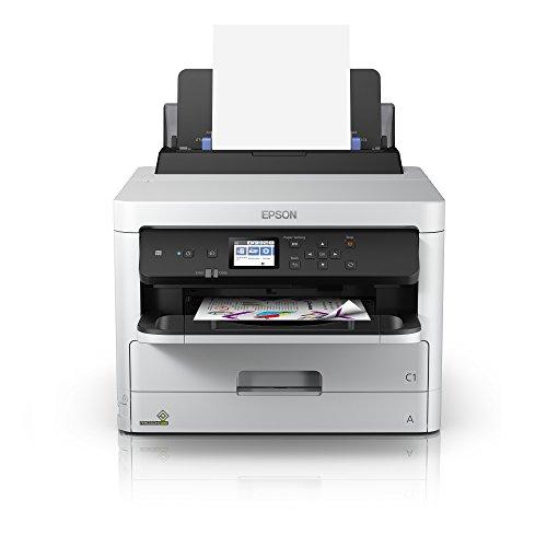 Epson WorkForce Pro WF-C5210DW 3-in-1 Tintenstrahl-Drucker (Druck, Scan, Kopie, WiFi, Ethernet, Duplex, 250 Blatt Kassette, Einzelpatronen, 4 Farben, DIN A4) - 250-blatt-kassette