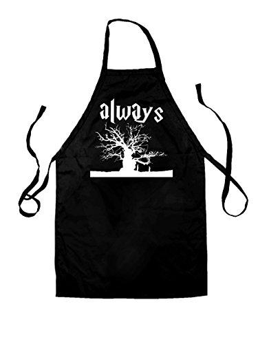 Dressdown Always Tree - Unisex Schürzen Passend Für Erwachsene - Schwarz - Eine Größe