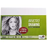 Brustro Sketching & Drawing Papers 200 GSM A4 (40+10 Sheets Free)